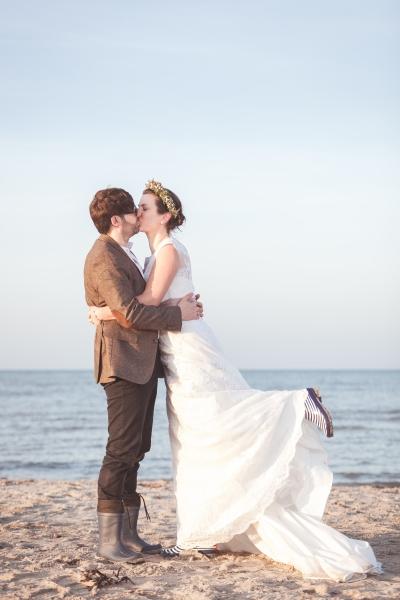 Hochzeitsfotografie in Heiligenhafen am Strand Hochzeitsfotograf Treibgutmedia